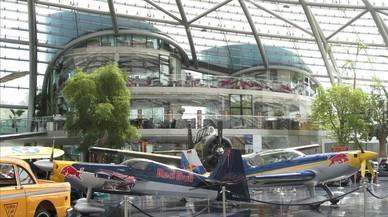 El 'Hangar-7', el lujoso garaje del riquísimo Mateschitz