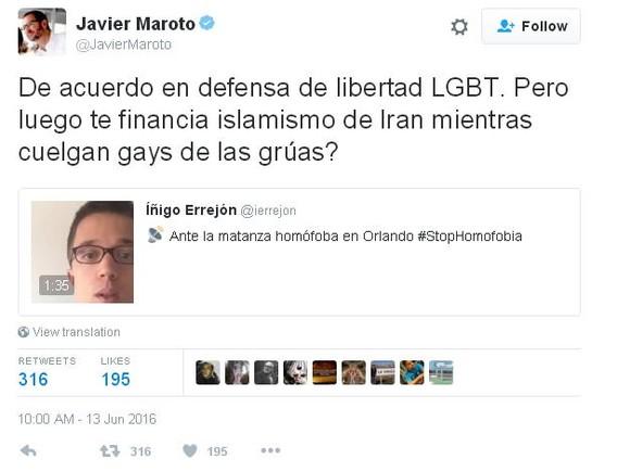 Podemos y el PP se enzarzan por la matanza homófoba de Orlando