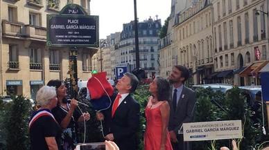 París sí le dedica una plaza a Gabriel García Márquez
