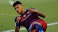 "Neymar ense�a como se hace un ""piscinazo"""