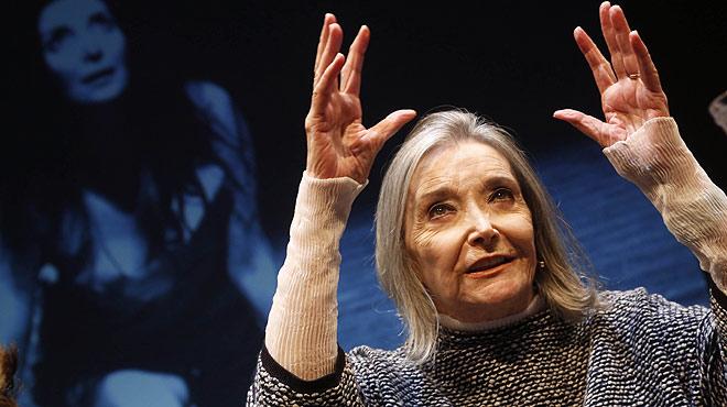 N�ria Espert, premio Princesa de Asturias de las Artes.