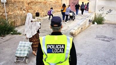 Una policía local de Palma.