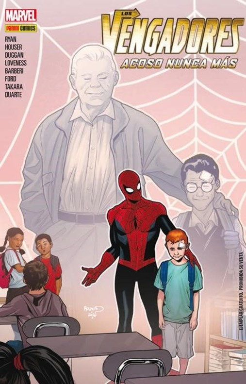 Spiderman y Los Vengadores contra el 'bullying'