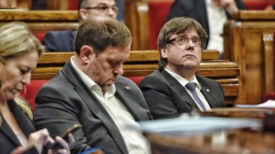 Puigdemont anuncia una bolsa de voluntarios para organizar el referéndum
