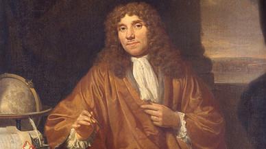 Retrato de Van Leeuwenhoek realizado por Jan Verkolje.