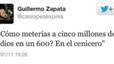 Un regidor d'Ahora Madrid es burla dels jueus a través de Twitter