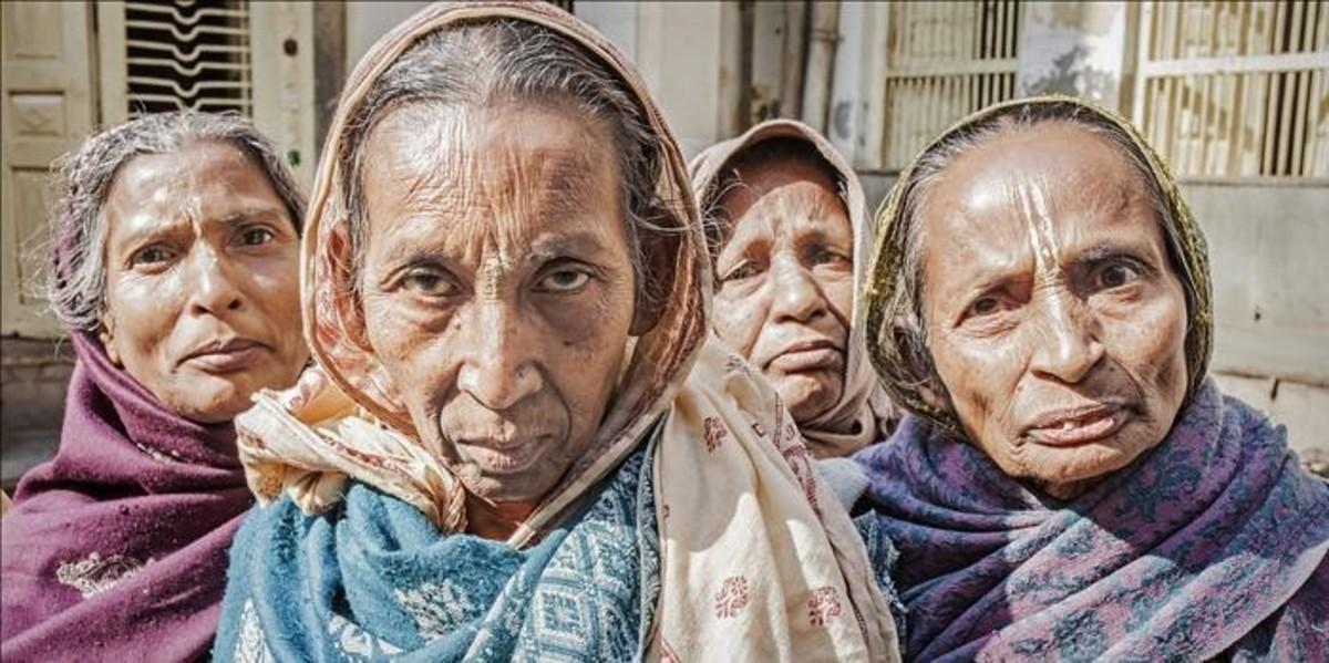 Vrindavan: la condemna de ser viuda a l'Índia