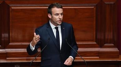 """Macron: """"Els francesos esperen amb impaciència una transformació profunda"""""""