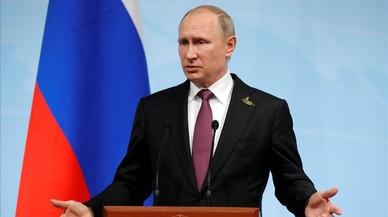 """Putin diu que la crisi de Catalunya es deu al """"doble tracte"""" d'Occident"""