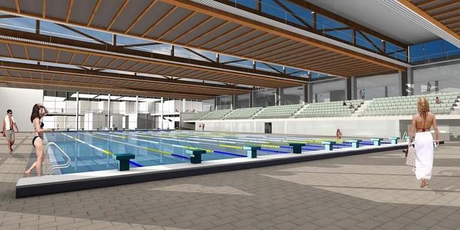 Una comisi n investigar el sobrecoste de la piscina de lloret for Piscinas municipales barcelona