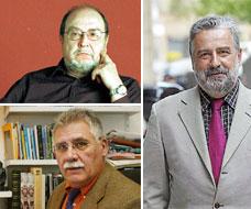 Ginés Vivancos, Enrique Arias Vega i Rafa Nadal.