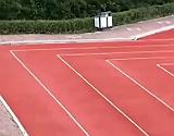 La nueva infraestructura del condado de Tonghe, con �ngulos rectos en lugar de curvas.