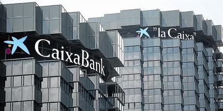 Imagen de la sede de CaixaBank en Barcelona.