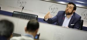 Miguel Gutiérrez, secretario general del grupo parlamentario de Ciudadanos en el Congreso