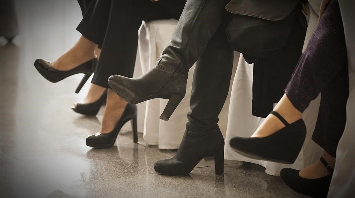 La lluita perquè les dones no estiguin obligades a portar talons arriba a Westminster
