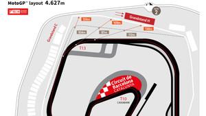 Así será la nueva configuración del Circuit de Catalunya