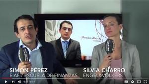 Simón Pérez y Silvia Charro, en el vídeo