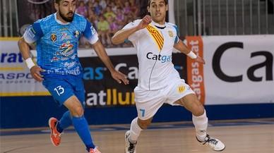 El colomenc Adolfo Fernández es corona com a millor jugador català de futbol sala