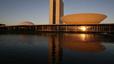 Congreso Nacional de Brasil, edificio por Óscar Niemeyer