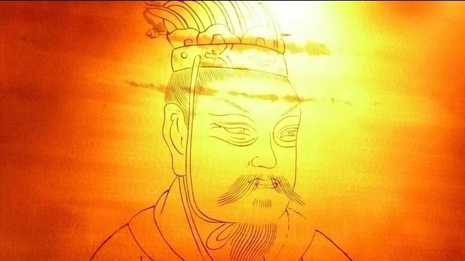 Retrato del emperador Jing Di o Jingdi, de la dinast�a Han,conservado en el museo de Xianyang.