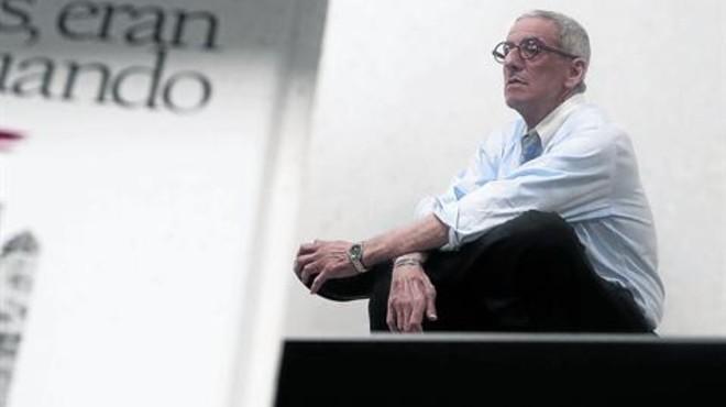 El analista pol�tico David Rieff, la pasada semana, en Madrid.