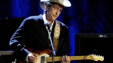 Bob Dylan, en un concierto enLos Angeles en el 2004.