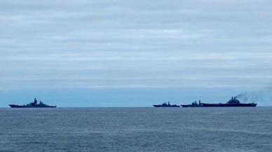 Rússia reforça la seva presència militar a Síria amb un portaavions
