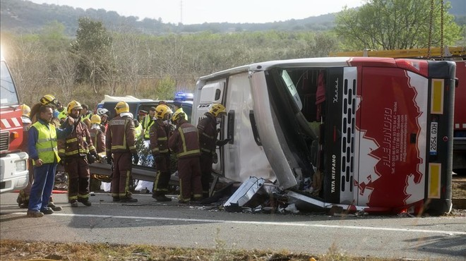 Exculpat el conductor de l'accident de Freginals en què van morir 13 universitàries