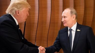 L'elit russa, satisfeta i fins i tot eufòrica per la reunió Trump-Putin