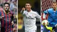 Neuer es cola en la festa de Messi i Ronaldo