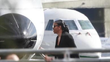 Los Obama se relajan en la isla de Branson