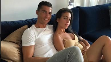 Cristiano Ronaldo y Giorgina Rodríguez.