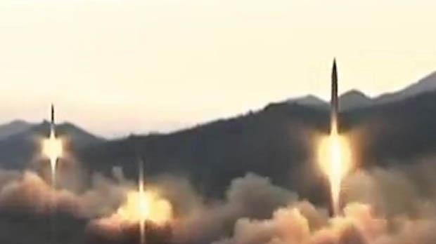 Corea del Nord llança tres míssils balístics al mar del Japó