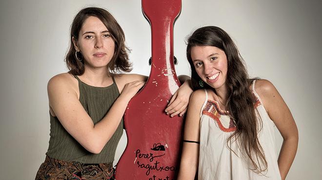 Amaia Miranda y Raquel Lúa, en el estudio de EL PERIÓDICO.