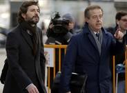 Oleguer Pujol, a su llegada a la Audiencia Nacional el pasado 12 de enero.