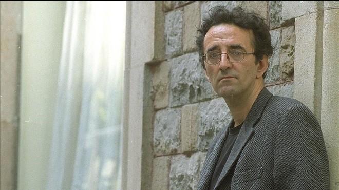 Roberto Bola�o, en el 2001.