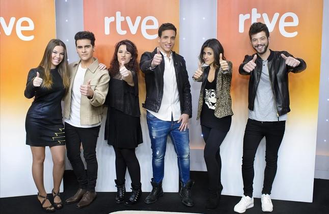 TVE busca entre 6 aspirantes a su voz en Eurovisión