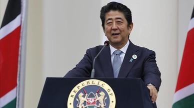 Shinzo Abe, primer ministro de Jap�n.