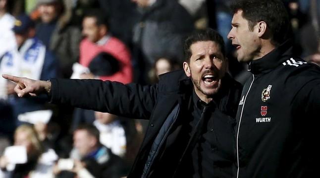 La Liga denuncia los insultos a Simeone en el derbi