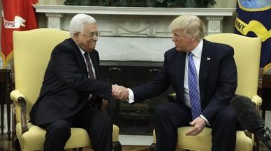 """Trump ve """"muchas posibilidades"""" para un acuerdo entre israelís y palestinos"""