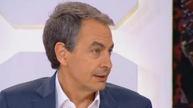 """Zapatero, en referència a una possible declaració d'independència a Catalunya: """"Així no la reconeixerà ningú"""""""
