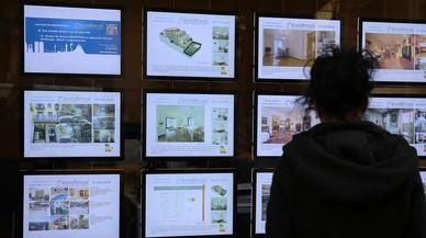 El alza de compraventas de viviendas se frenó en septiembre en Catalunya