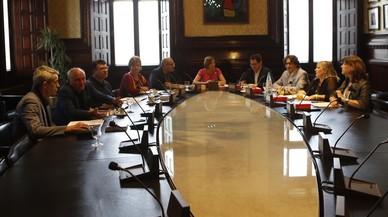 La Mesa del Parlament aprova un protocol sobre l'entrada de policies a la Cambra