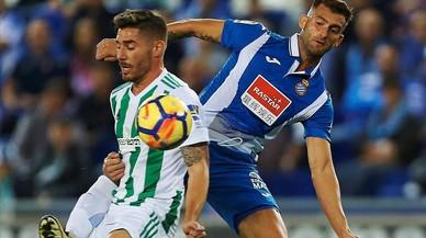 L'Espanyol-Betis, en directe online
