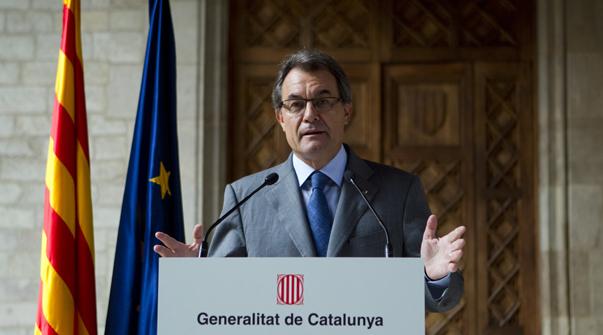 El president Artur Mas ha valorat aquest matí les conseqüències de la multitudinària manifestació independentista d'ahir.