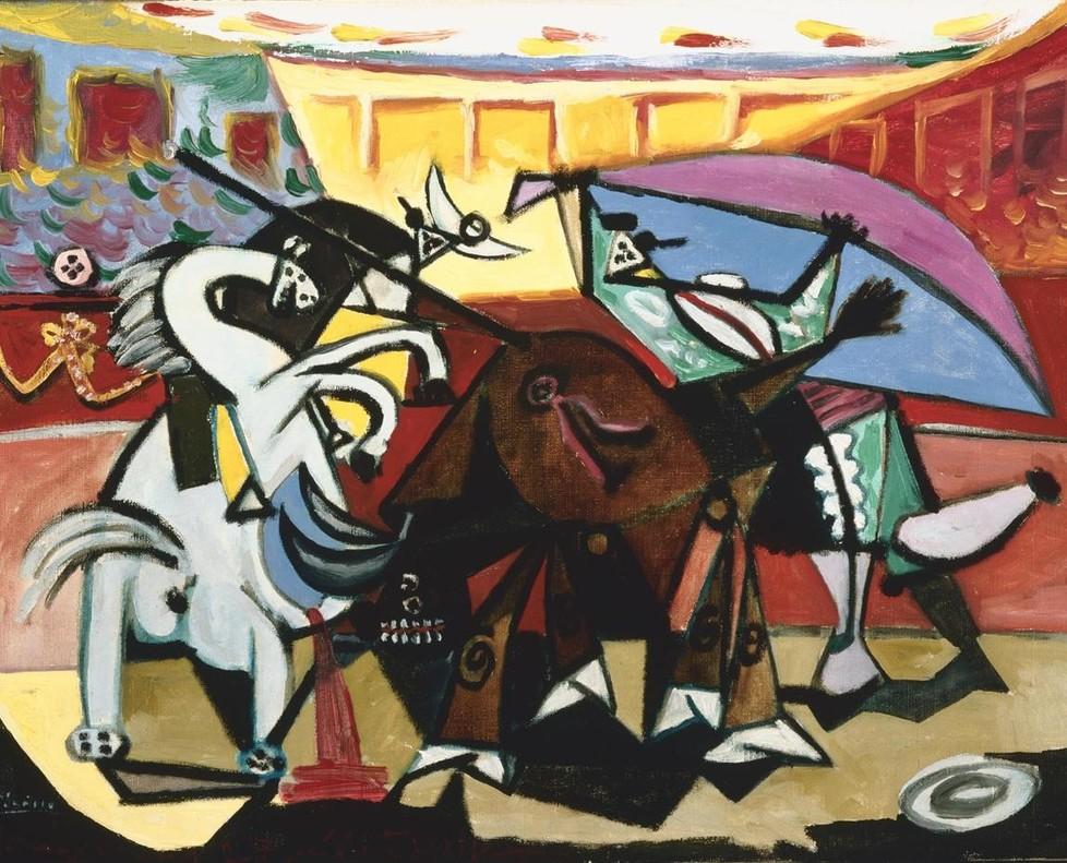 Corrida de toros, de Pablo Picasso, en CaixaForum.