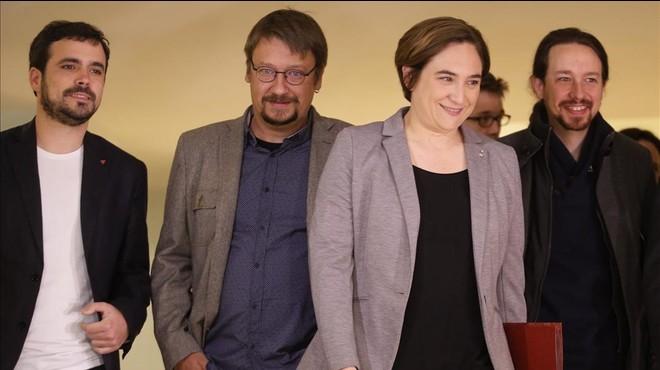 Iglesias enterra les cessions i revela la fórmula del referèndum