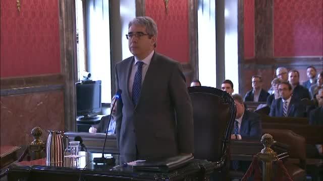 Homs señala que el Govern no era el único que pudo parar el proceso del 9N