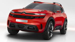 Imagen de lo que podría ser el C5 Aircross que se presentará en Ginebra.