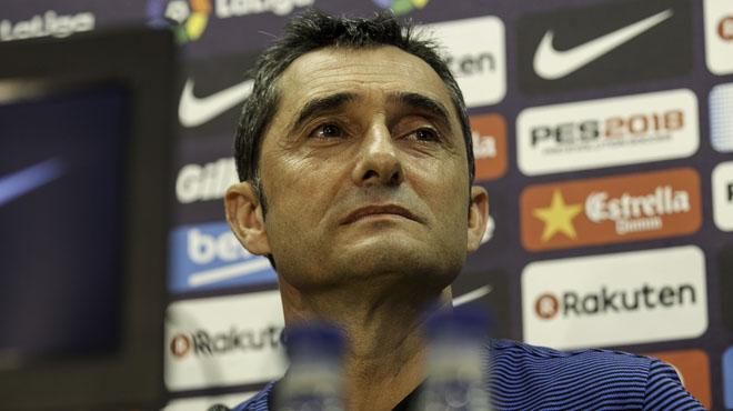 Valverde: Los mejores fichajes son los que están en mi equipo